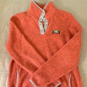 LLBean sweater fleece pullover